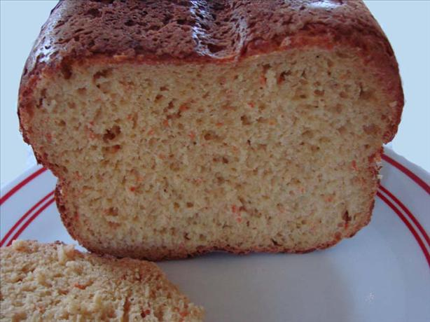 Carrot Pineapple Yeast Bread (Bread Machine)
