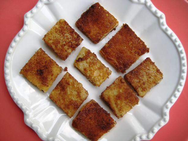 Quick Cinnamon Pancake Cubes