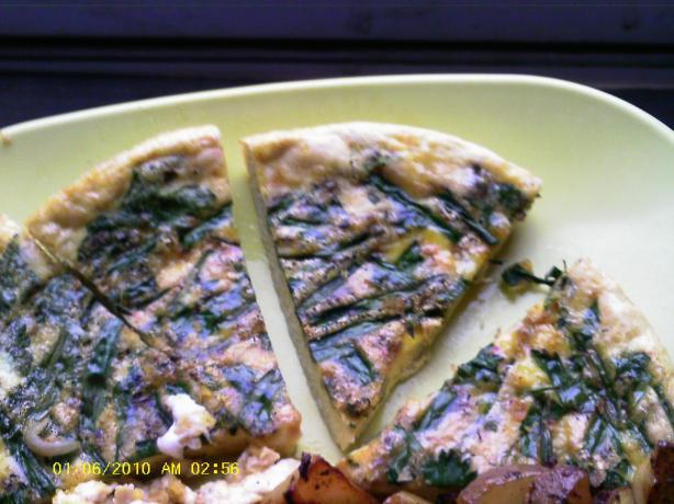 Kukuye Sabzi Herb Omelet