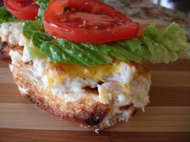 Queen Bs Jersey Crab Burger
