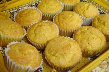 Golden Pumpkin Muffins