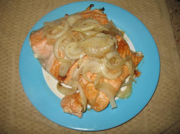 Icelandic Salmon Grill