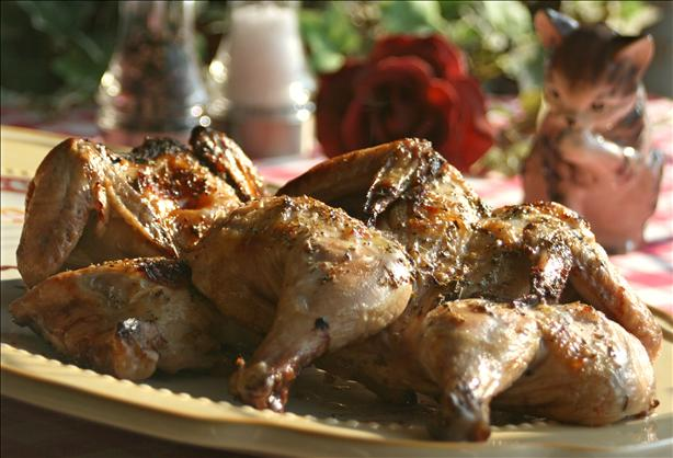 Honey-Herb Cornish Game Hens