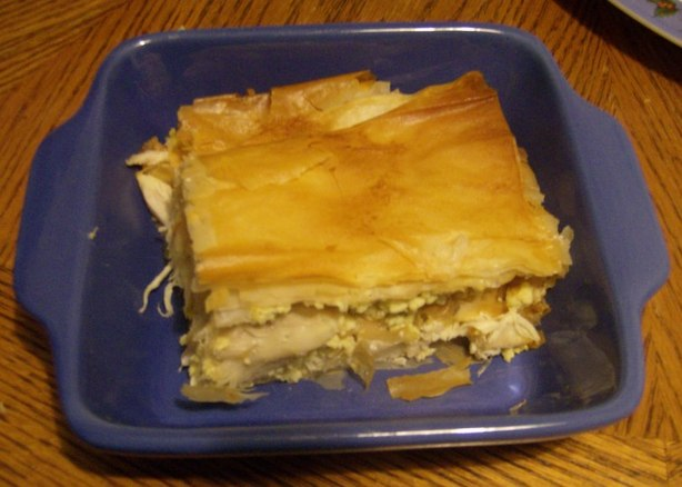 Moroccan Chicken & Egg Pie (Bisteeya/B'stilla)