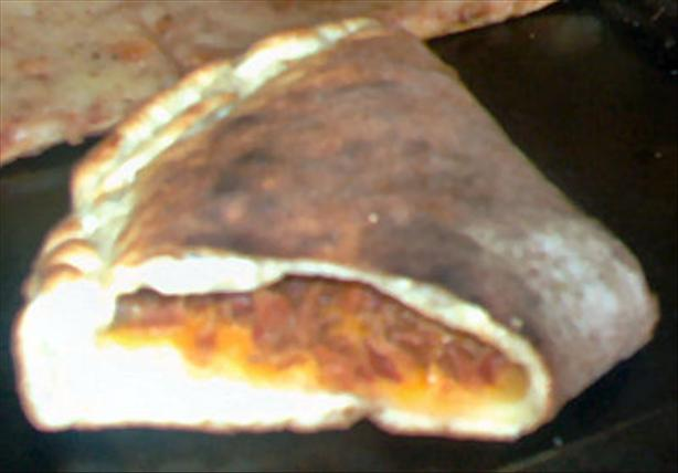 Bacon Cheese Stromboli