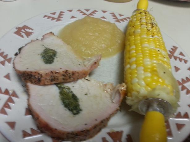 Pork Loin With Lemon and Sage