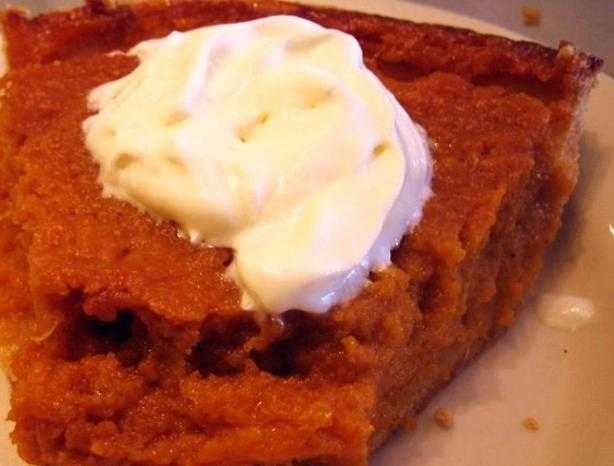 Sweet Potato or Pumpkin Pie