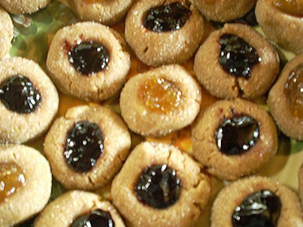 Gluten Free Sunbutter Thumbprint Cookies