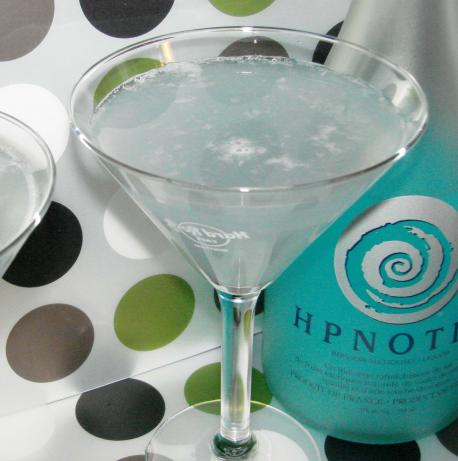 Blue Ice Martini