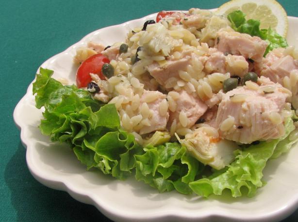 Mediterranean Chicken Salad