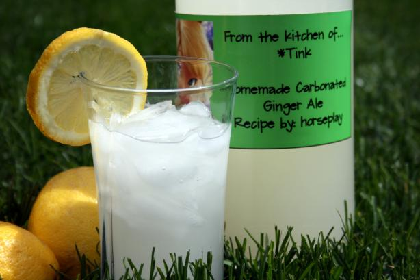 Carbonate Your Own Ginger Ale