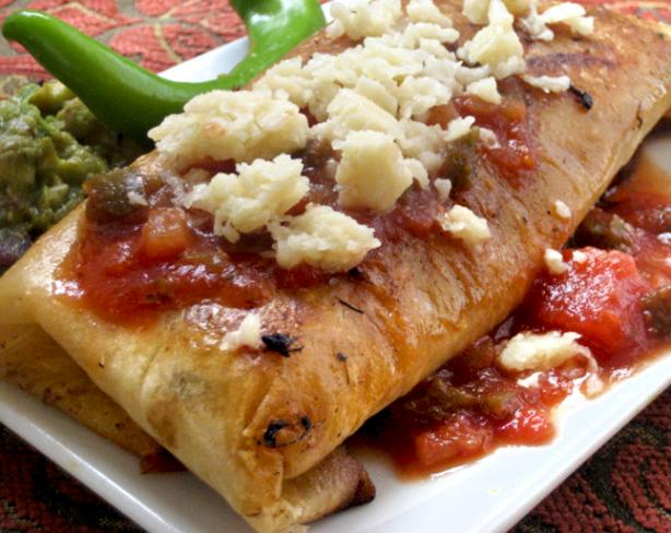 Emeril's Chicken Chimichangas