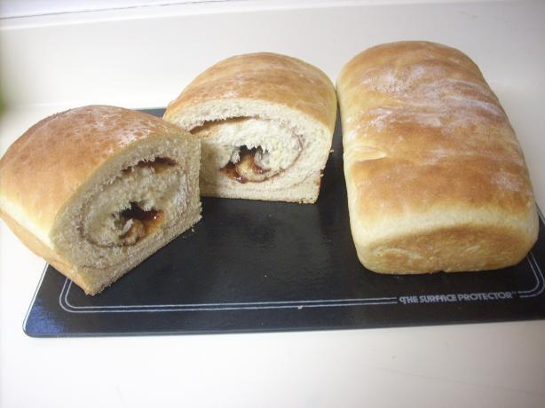 Cinnamon-Swirl Egg Bread