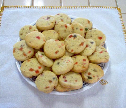 Fruit and Nut Refrigerator Cookies