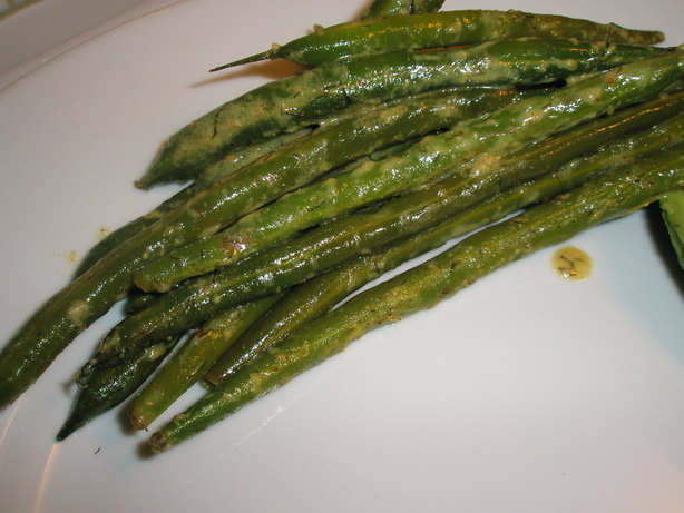 Lemon Dijon Green Beans
