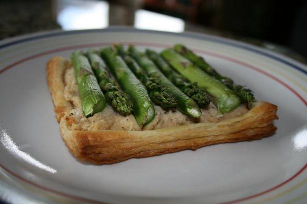 Fancy Asparagus Tart