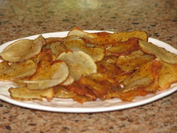 Oven-Fried Potato Chips With Thyme