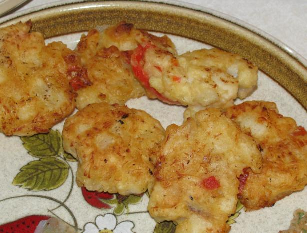 Easy Cod Fish Fritters
