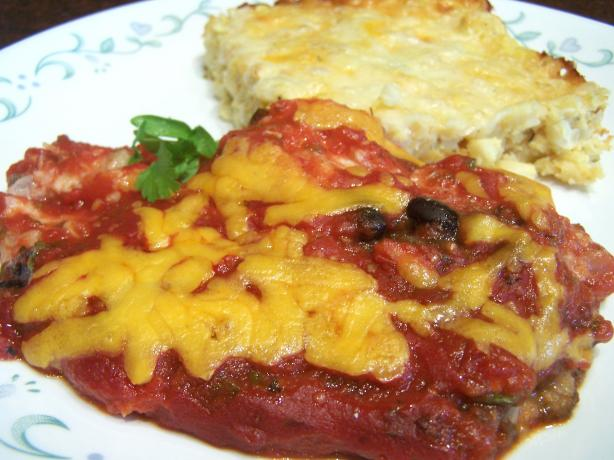Chicken Enchilada Casserole, Diabetic