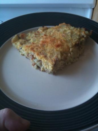 Frittata With Potatoes, Pancetta and Gruyere