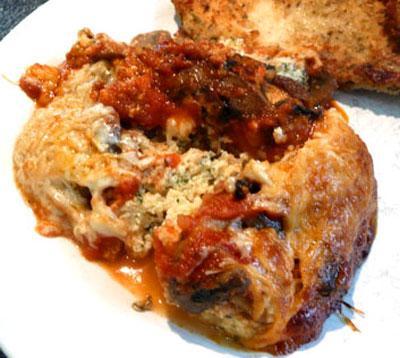 Mushroom Lasagna: Gluten Free and Pasta Free!