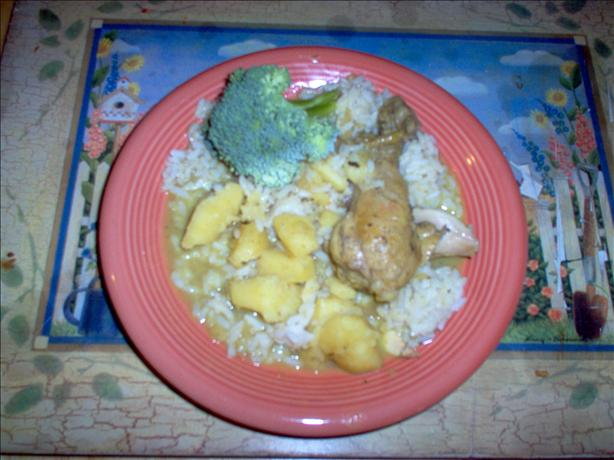 Caribbean Curry Chicken