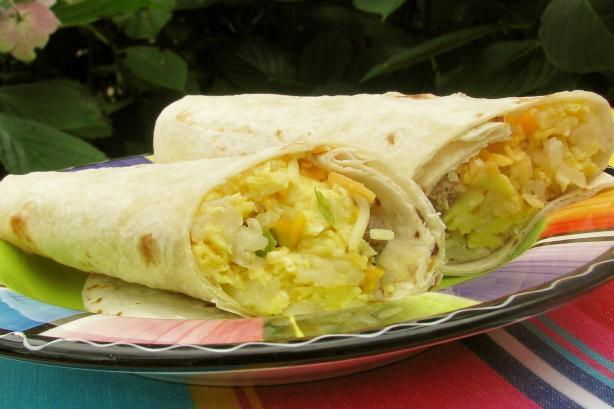 Joy's Breakfast Burritos