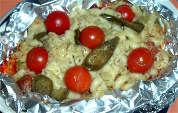 Spicy Sausage Pasta Casserole
