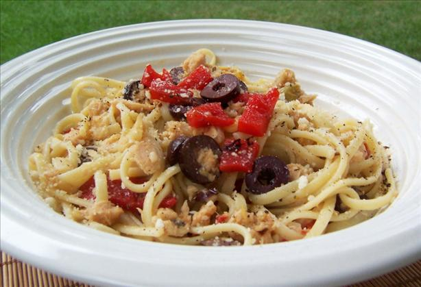 Linguine Tossed With Tuna
