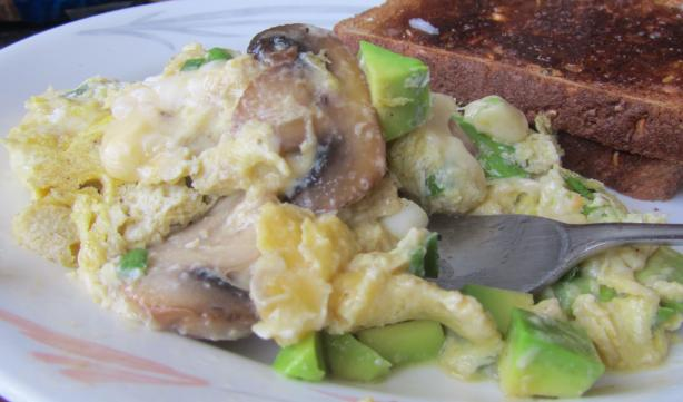Hass Avocado Sunrise Omelet