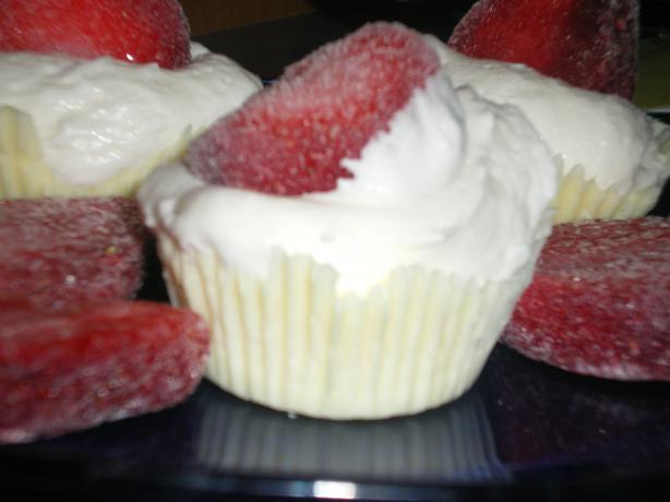 White Chocolate Lace Cups