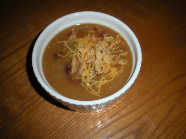 Bacon Cheeseburger Soup ( Paula Deen )