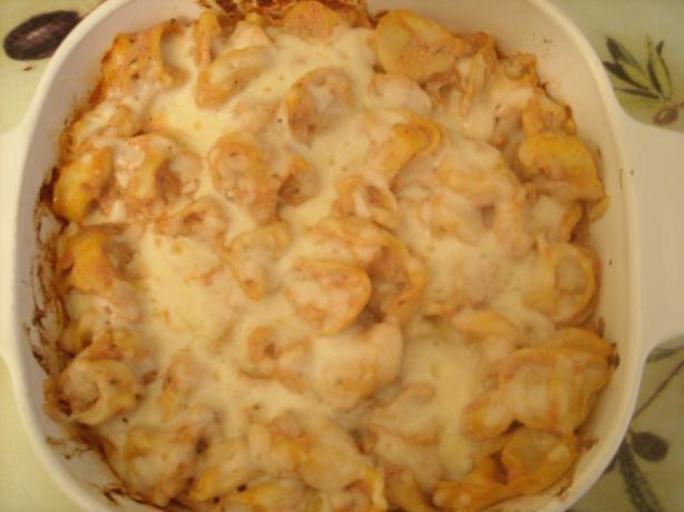 Cheesy Baked Tortellini - Giada