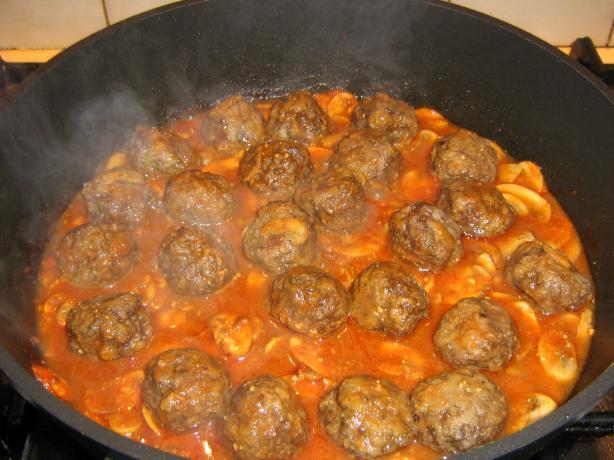 Meatball Stroganoff