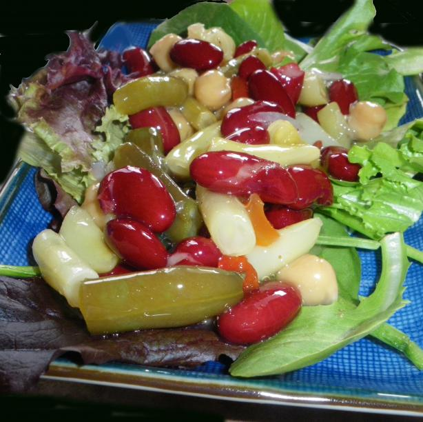 Tangy Four Bean Salad