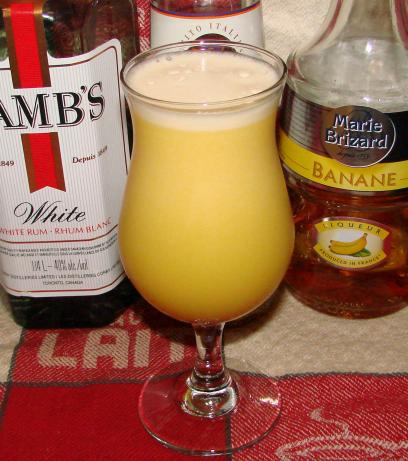 Puerto Rican Yellow Bird Cocktail