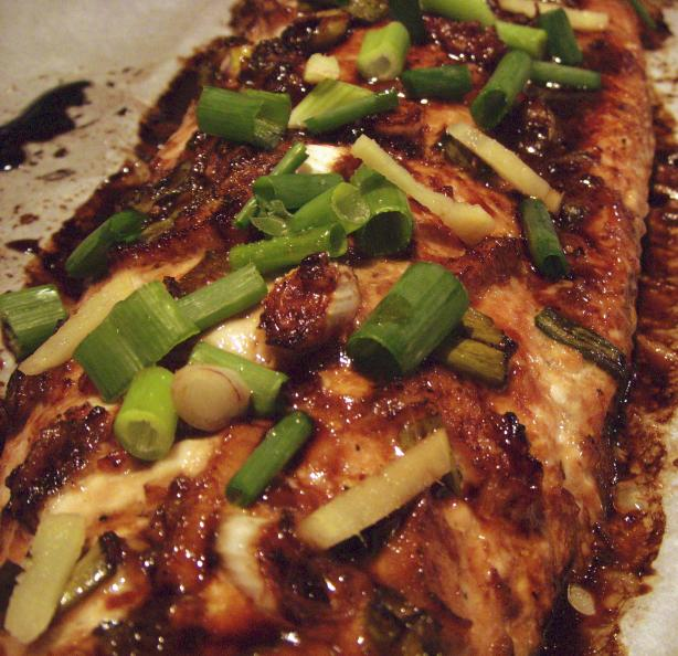 Lemon Ginger Salmon