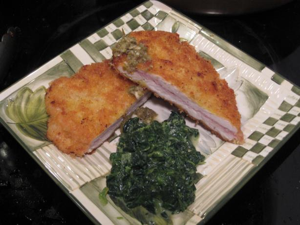 Turkey Cutlets With Prosciutto and Caper Sauce