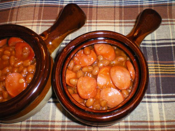 Baked Beans With a Taste of Orange