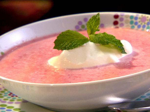 Disney World's Strawberry Soup