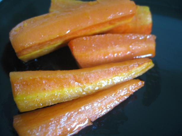 Roasted Carrots With Lemon Dressing