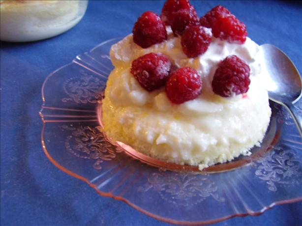 Baked Lemon Pudding