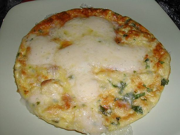 Garlic Frittata