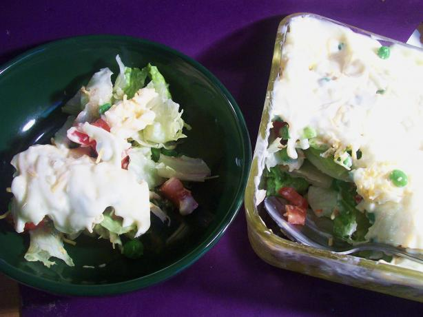 Seven Layered Salad