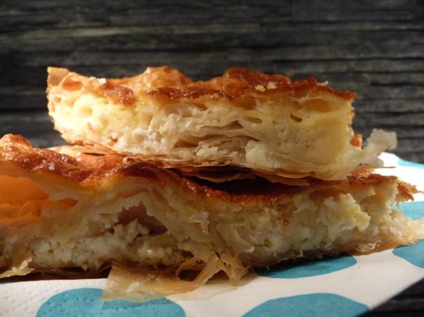 Simple Bulgarian Banitsa