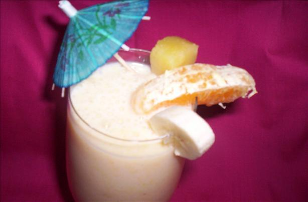 Sunshine in a Glass Smoothie
