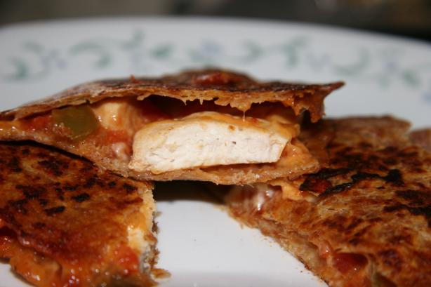 Authentic Style Chicken Quesadilla