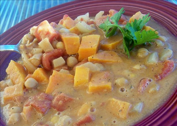 Vegetarian West African Soup
