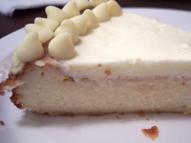 White Velvet Cheesecake