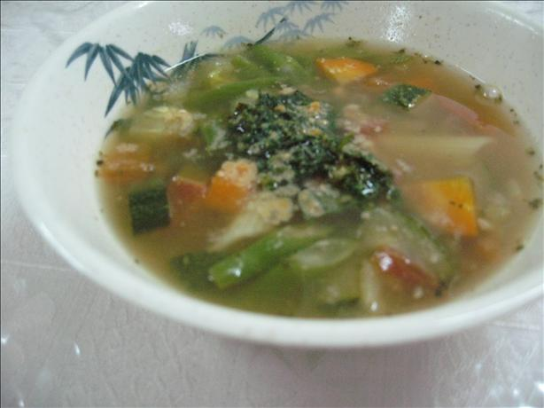 Soupe Au Pistou from Nice